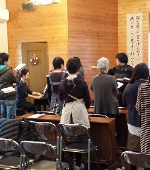 2014年12月7日(日)主日礼拝のご案内 「主イエスを迎える」