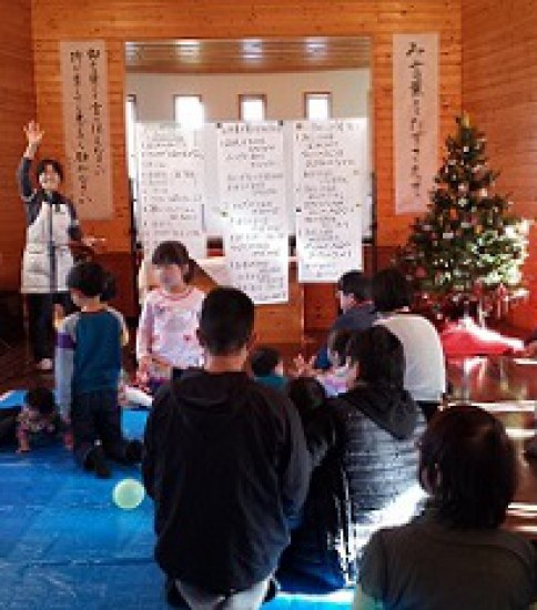 2014年12月14日(日)主日礼拝のご案内 「マリアの物語」