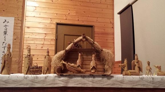 いよいよクリスマス。多くの方と共に、御子イエスのご降誕をお祝いできますように。