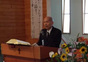 5日の礼拝は東京バプテスト神学校の山本弘夫神学生をお迎えしての礼拝でした。