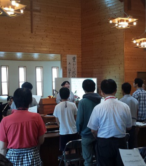 2015年10月4日(日) 主日礼拝のお知らせ 「神の言葉を預かる」
