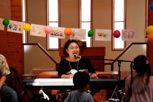 講師の天笠裕美さん。