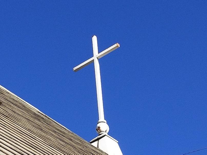 屋根の十字架