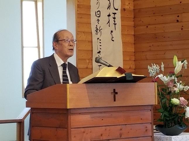 山下誠也牧師(川越教会)