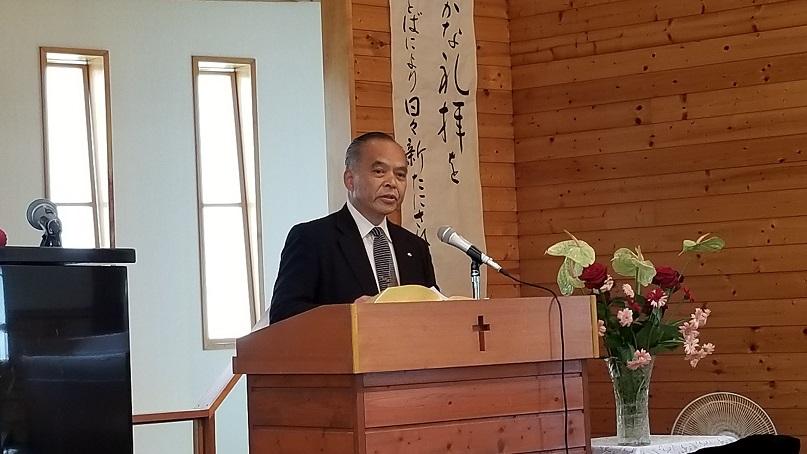 小勝琢生神学生(東京バプテスト神学校)