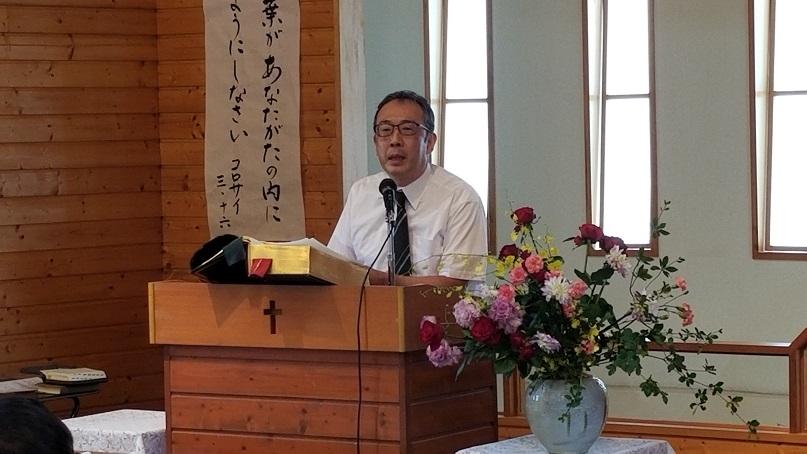 太田キリスト教会 林 健一牧師