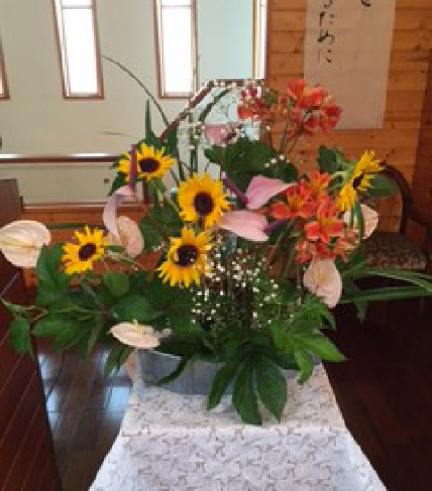 2015年7月12日(日) 主日礼拝のご案内「主イエスと共なる舟に」
