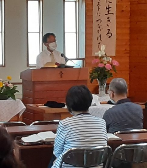 2020年6月14日(日)主日礼拝「お互いはキリストの体の一つ一つ」