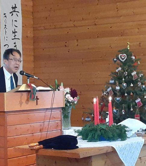 2020年12月13日(日)主日礼拝「クリスマス~救い主を迎えるとき~」
