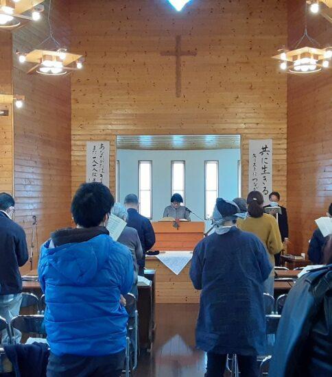 2021年2月28日(日)主日礼拝「閉じる力を開く力に」